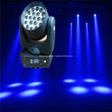 12W 19 피스 LED Moving Head Zoom Lighting