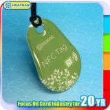 ABS RFID Keyfob mit bunten Logo-Druck für Promotion