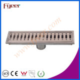 Drain de plancher Odeur-Résistant d'acier inoxydable de rectangle de Fyeer 30cm long