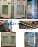 Ice de interior Storage Freezer de 420 Liters Ice Storing