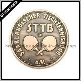 Münze des Qualitäts-kundenspezifische Metall3d für Andenken (BYH-10813)