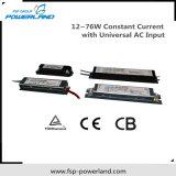 12~76W driver costante della corrente LED con l'input universale di CA
