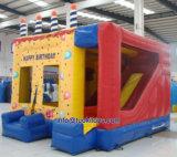 子供のゲーム(B092)のための膨脹可能な跳躍の城