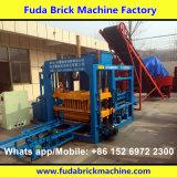 Machine à paver et machine carrées concrètes automatiques de bloc de Habiterra avec hydraulique