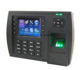 Registrador de comparecimento biométrico do tempo da impressão digital com GPRS opcional (TFT500/GPRS)