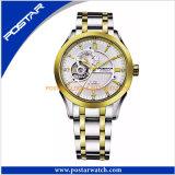 Da tendência nova automática do relógio do luxo C relógio de esqueleto