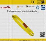ASME B30.9 мы 3 подъемного стропа Webbing Ply (TS-W08-09)