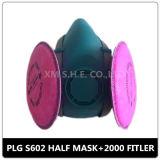 Mehrfachverwendbare doppelte Kassetten-chemischer halber Gasmaske-Respirator