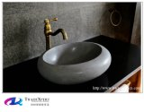 Lavabo di modello della mano del controsoffitto della stanza da bagno del granito della natura
