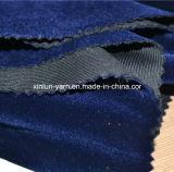 tela de veludo 100%Polyester para o sofá/Upholstery