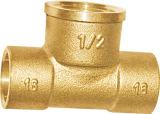 Guarnición de cobre amarillo del Soldar con autógena-Fin (A. 0346)