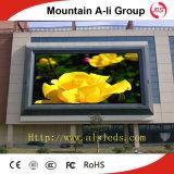 P10 делают дисплей с плоским экраном водостотьким полного цвета напольный СИД