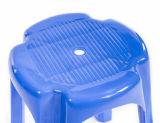 Runder Stuhl-Plastikstuhl-blauer Stuhl, der Stuhl-Ausgangsmöbel speist