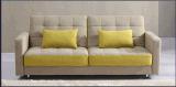 Populäre 3 Seater Wohnzimmer-Möbel-Freizeit-faltendes Sofa-Bett