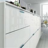 N & van L het Witte Meubilair van de Keuken met Gelamineerde Raad (kc1120)
