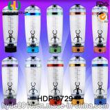 La bouteille électrique de dispositif trembleur de protéine du plastique 600ml, BPA libèrent la bouteille en plastique de vortex (HDP-0729)