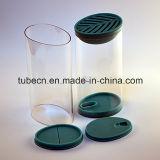 包装のための明確な長円のプラスチック管