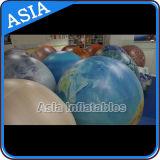 Ballon gonflable d'hélium de planète d'illumination, la terre, lune, Jupiter, Saturne, Uranus, Neptune, Mercury, Venus, ballon de Mars