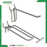 PVC Price Tag를 가진 Slatwall Double Wire Display Hook