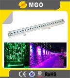 Diodo emissor de luz ao ar livre Wall Washer Light de Lighting 24pcsx3w