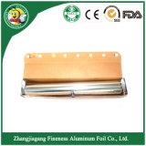 Papier d'aluminium de conditionnement des aliments de ménage