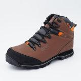 O conforto de escalada impermeável do estilo novo calç os homens que caminham sapatas