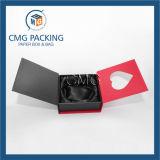 Doos van de Verpakking van de Vertoning van de Juwelen van het hart de Scherpe Vastgestelde (cmg-pjb-035)