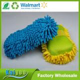 8 tipo productos de limpieza de alta densidad del coche de la colada del Chenille de la esponja