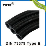 DIN73379 type durite de carburant d'Overbraided de coton de B NBR