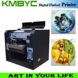 CD Printing를 위한 2 바탕 화면 A3 UV LED Flatbed Printer