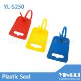 Sellos plásticos de la etiqueta grande (YL-S250)