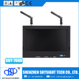 Hemel-700d 7 de Monitor van de Duim TFT LCD met DVR, de Draadloze Ontvanger van de Diversiteit 5.8GHz