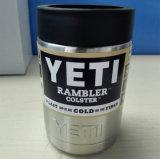 Rambler Colster do suporte da cerveja do aço inoxidável do Yeti 12oz