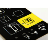 Paste d'argento Membrane Switch Keypad con 4 Keys
