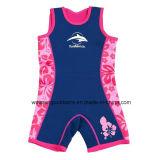 再使用可能な水泳の赤ん坊のおむつ、暖かいウェットスーツ、浮力の水着。 Wm031