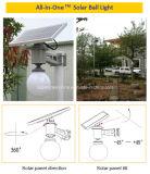 Lumière solaire neuve de jardin du détecteur de mouvement d'arrivée DEL extérieure