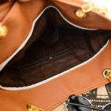 PU-lederne Form-Frauen-Damedesigner Tote-Beutel-Handtasche