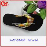 Ботинки сандалий Confortable тапочки способа пальца ноги зажима для женщин