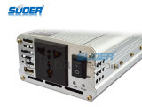 Suoer 1000W Gleichstrom 12V weg vom Rasterfeld-Energien-Inverter mit Aufladeeinheit 10A (SAA-1000C)
