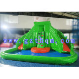 Pool/Inflatable PVC Slide를 가진 Adult를 위한 상업적인 Giant Inflatable Water Slide