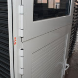 Metade de alumínio do painel de alumínio da porta do Casement da ruptura térmica da boa qualidade, meio Casement de vidro Kz193