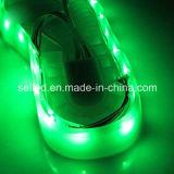 Luzes de tira impermeáveis DC3V da sapata do diodo emissor de luz do verde de SMD 3528