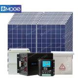Sistema de seguimiento solar de Moge 5kw picovoltio para el proyector de la impulsión de la ciénaga