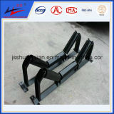 Cinta transportadora a través de rodillos para transportador de cinta