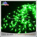 40 la stringa calda di bianco LED illumina gli indicatori luminosi leggiadramente caldi decorativi di bianco LED dell'indicatore luminoso di festa dell'indicatore luminoso della decorazione di natale