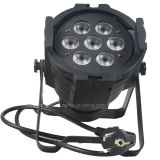7PCS*10W LED DMX Notwaterproof Indoor Wash Light für Stage DJ