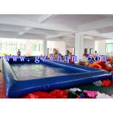 PVC, das aufblasbares Pool schwimmt