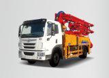 A8 40 M3/H Concrete Boom Pump Truck с Concrete Mixer для Construction