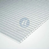 Polycarbonate di cristallo Hollow Sheet per Decoration
