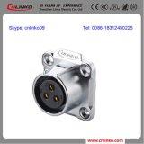 Wasserdichter IP67 männlich-weiblicher Plug/3pin Verbinder